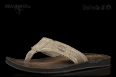 Men's Earthkeepers® Leather/Fabric Thong Sandal