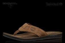 Men's Earthkeepers® Leather/Fabric Thong Sandal (Продано)