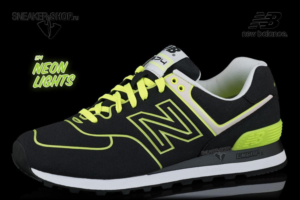 Кроссовки New Balance ML574NEN Neon Pack купить в интернет магазине ... 07b4d3fecc