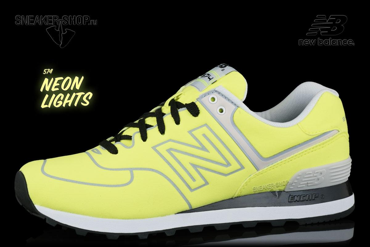 Кроссовки New Balance ML574NEP Neon Pack купить в интернет магазине ... 511759e449